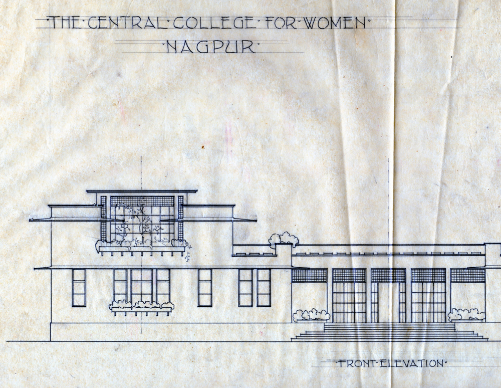 Otto Koenigsberger, Central College For Women, Nagpur, 1940