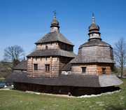 The Church of the Holy Spirit, Potelych, Ukraine, 1502