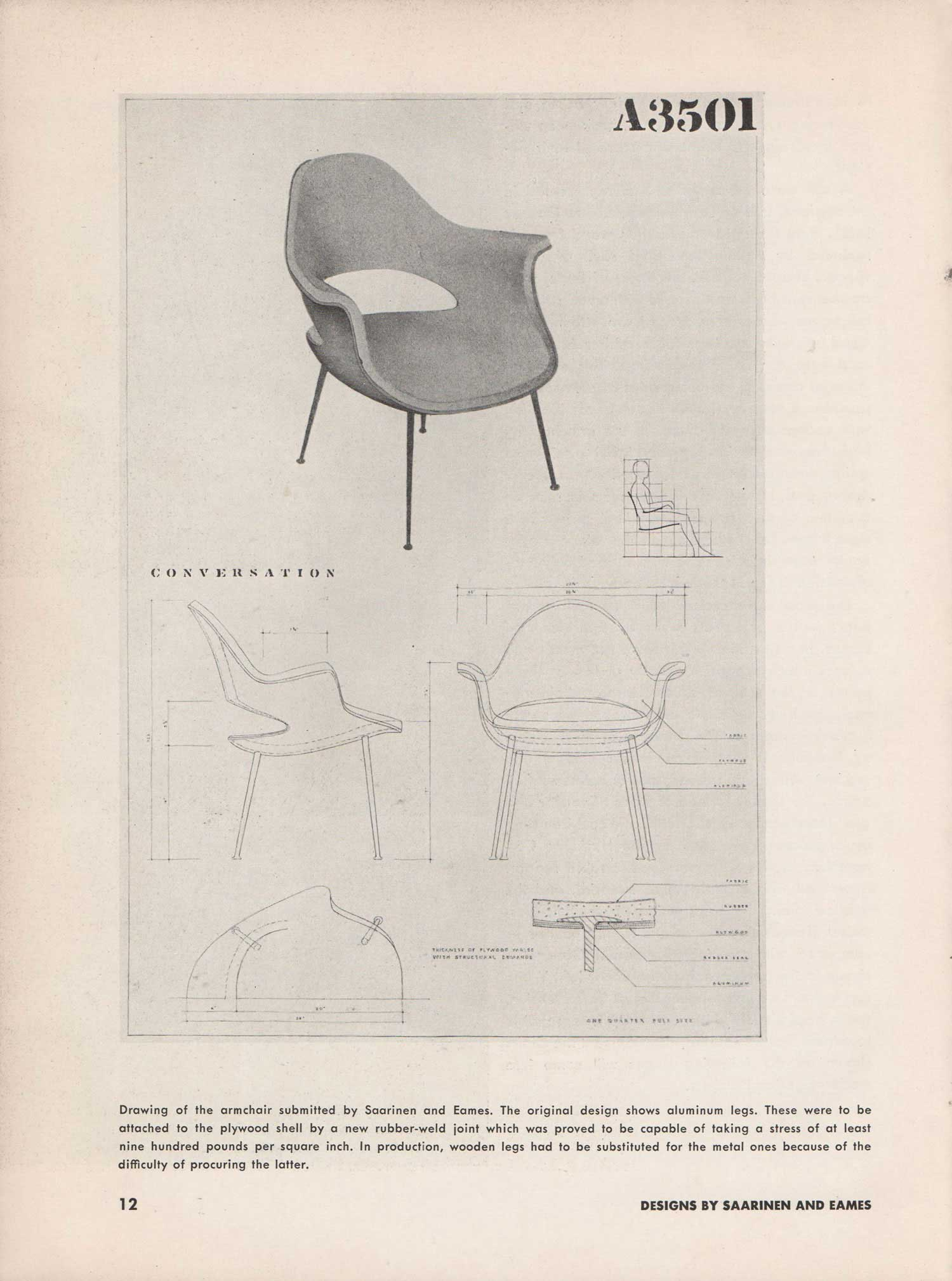 Aa Library Organic Design In Home Furnishings 1941 Architectural Association Collections