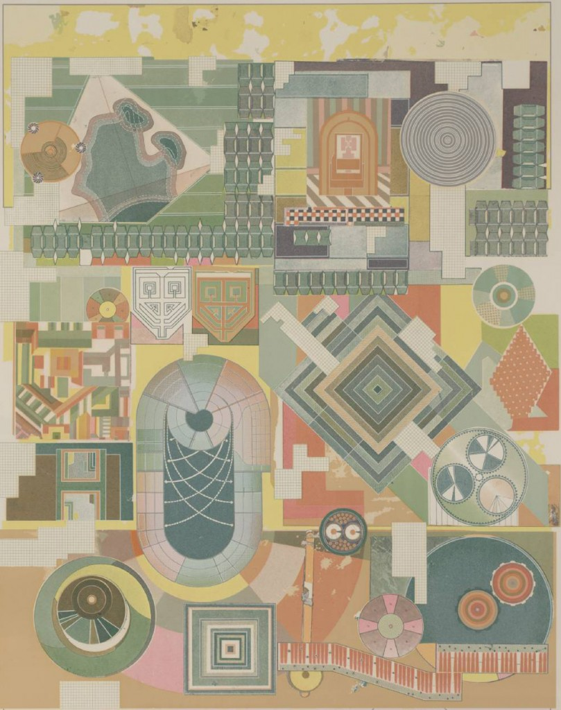 The Children's Hour 1974-6 by Sir Eduardo Paolozzi 1924-2005