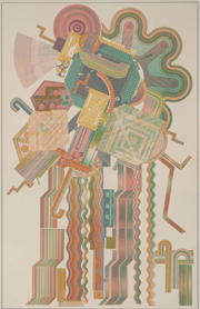 Allegro Moderato Firemans' Parade 1974-6 by Sir Eduardo Paolozzi 1924-2005