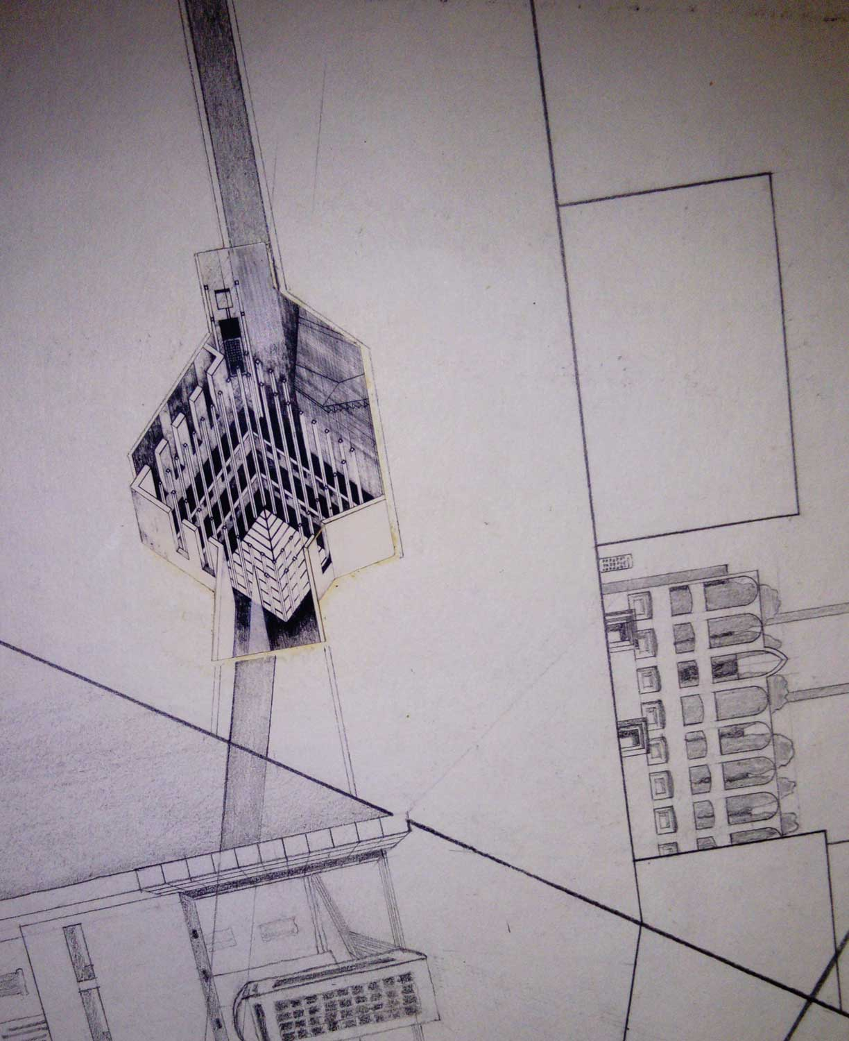 AA Archives  Jeremy Barnes  drawings from Bernard Tschumi   Nigel ... 68db7ade253d